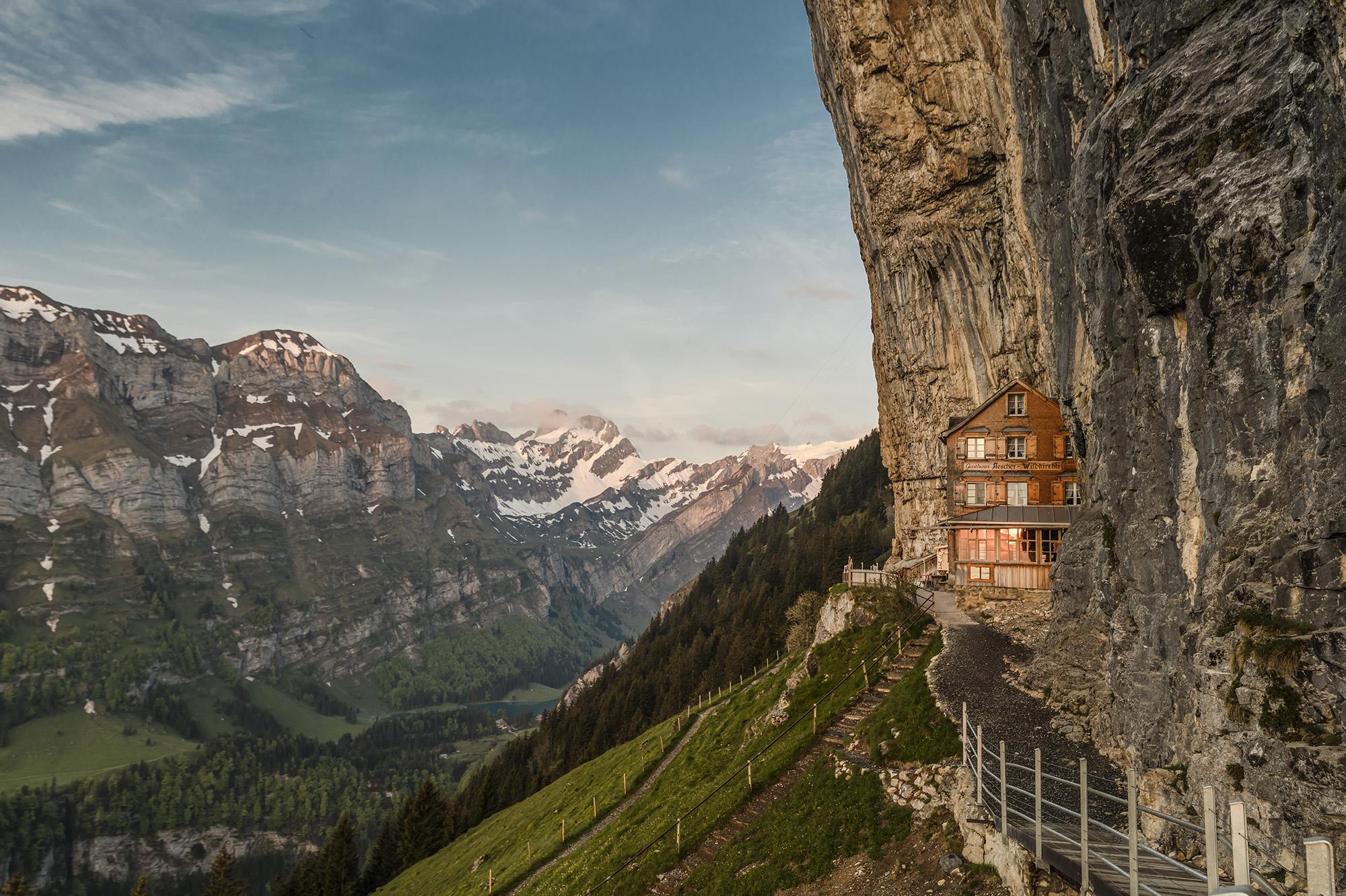 Mountain Inn Aescher Appenzellerland Tourismus