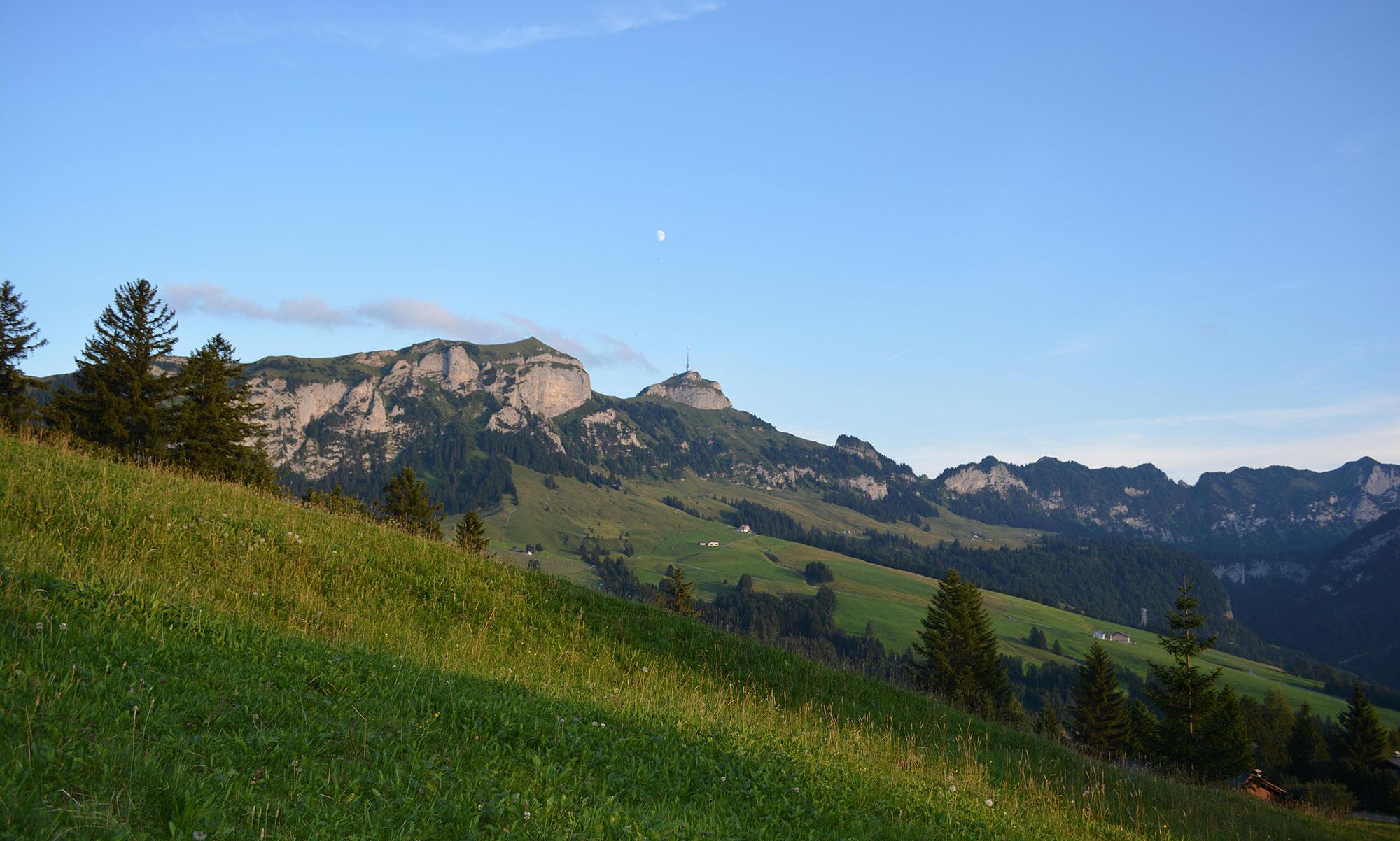 Im Zickzack Hoch Zum Hohen Kasten Appenzellerland Tourismus