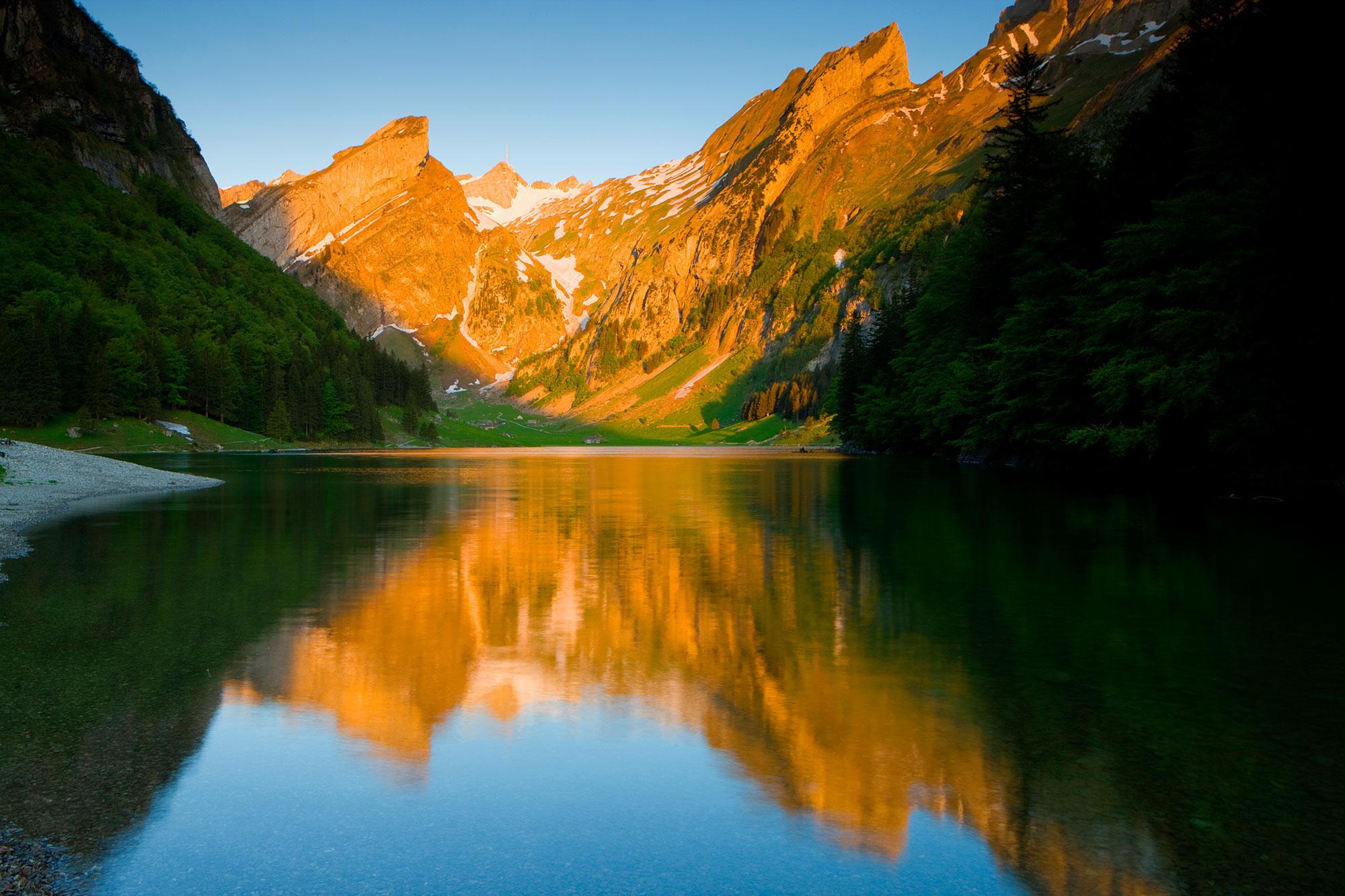 Seealpsee Appenzellerland Tourismus