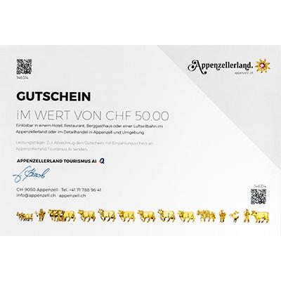 Gastro-Gutschein CHF 50.00